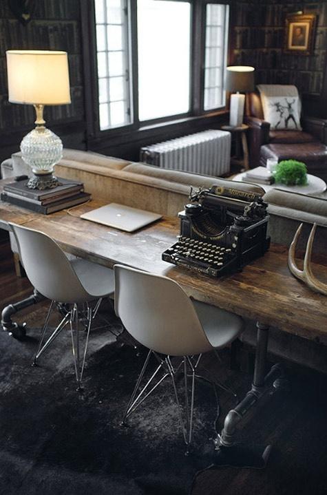 HomeOfficeviathevintageobjectblogspot